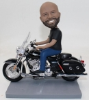 Custom bobblehead Driving Motorcycle