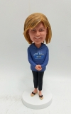Custom bobblehead-Casual gift figure