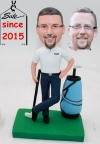 Custom Bobbleheads- Playing Golf