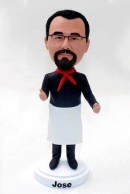 Custom chef bobblehead