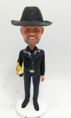Custom Cowboy bobblehead made to order