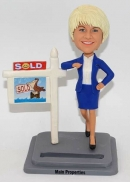Real estate agent -Personalised bobblehead