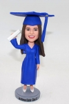 Graduation themed bobblehead