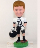 Football player bobblehead-kids