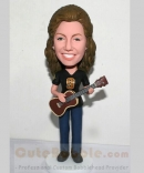 Playing ukelele custom bobblehead