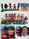 Custom bobbleheads-Sports team set 10 persons