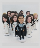 Star War themed custom bobbleheads-wedding gifts