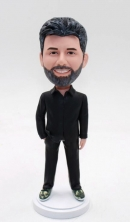Custom bobbleheads-Man in Casual