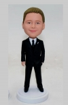Junior groomsman custom bobble heads