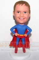 Cuostm bobbleheads-Superman kid