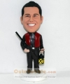 Hunter personalized bobbleheads