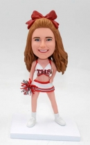 Custom bobbleheads doll -Cheer leader