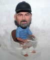 Man on toilet bobblehead