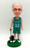 Custom bobblehead-doctor in basketball uniform