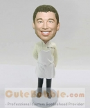 Personalized bobbleheads with apron