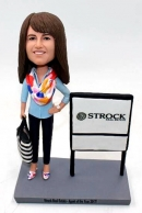 custom bobbleheads-female realtor