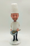 Chef custom bobblehead doll