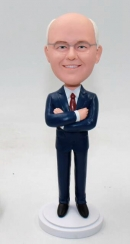 Custom bobbleheads-Business Style