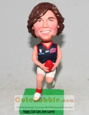 Sports Custom Bobbleheads - Rugby