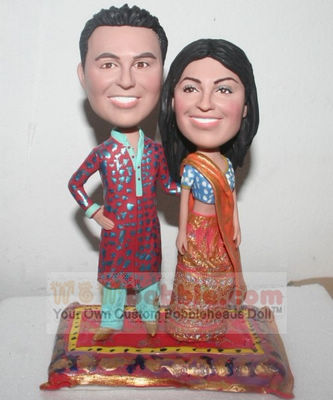 Indian Wedding Cake Topper