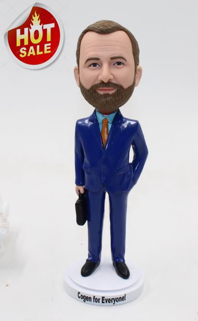 Gift bobblehead for boss