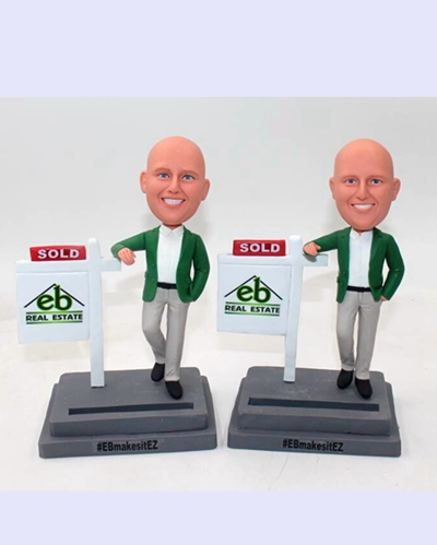 Custom Realtor bobblehead-Hot