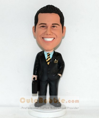 custom bobblehead - businessman