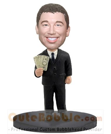 Boss money in hand bobbleheads