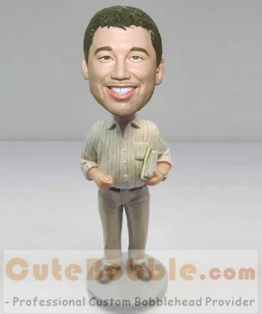 Teacher lecturer custom bobblehead