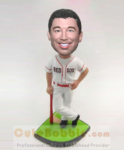 Red Sox custom baseball bobblehead