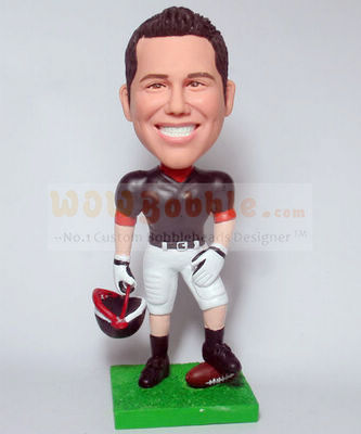 Football Player Bobblehead