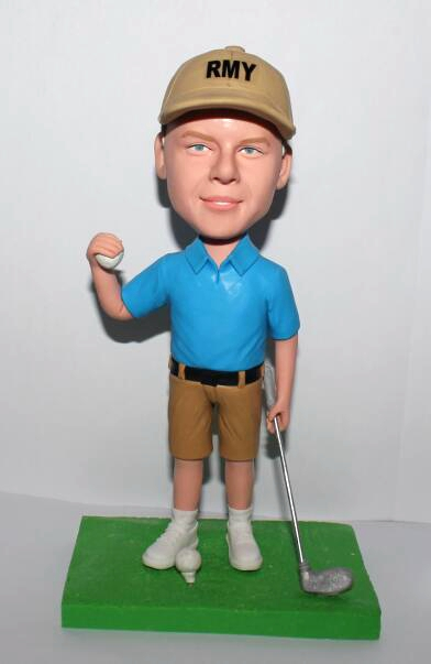 Best gift for boss- golf bobblehead